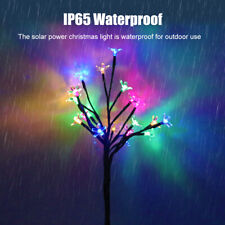 23Inch Led Solar Powered Flower Fairy Garden Lights String Outdoor Party Wedding