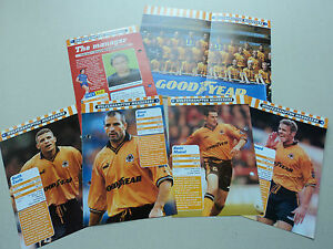 FOOTBALL MAGIC Cards: Wolves Team from the 1998-99 Season