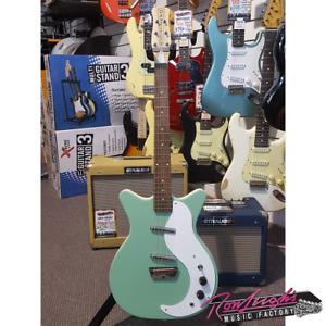 Danelectro DK59 Stock Series Electric Guitar in Aqua