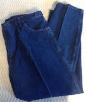 Rustler Wrangler Mens Jeans Straight Leg Regular Fit Dark Wash Sz 40x32