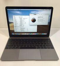 Apple MacBook Laptop (Retina,12-inch, Early 2015) 256GB SSD 8GB RAM - Space Gray