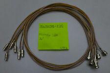 """(6) 75 Ohm Mini SMB(Female) to F(Male) Cables 36"""" {fo}"""