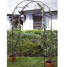 Garden Rose Arch Pergola Climbing Plant Flower Trellis Support Ivy Tall Frame