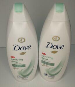 🕊️🚿Dove Purifying Detox Green Clay Body Wash 16.9 Oz. 2 Pk