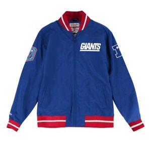 Authentic New York Giants Super Bowl XXXL NFL Mitchell & Ness  warm-up Jacket