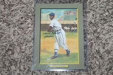 COOL PAPA BELL PEREZ STEELE HALL OF FAME GREAT MOMENTS AUTOGRAPHED # 0652/5000