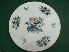Royal Worcester Cake Plate/Stand - Flower Pattern
