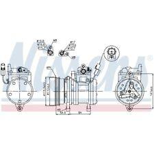 1 Kompressor, Klimaanlage NISSENS 89255 passend für HYUNDAI KIA