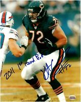 Gabe Carimi Chicago Bears Autographed 8x10 Football Photo With Inscription