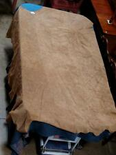 Large appr 72 sq ft Leather Hide Suede Piece for Arts, Crafts, Auto, Home + More