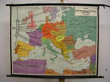 School Wall Map Wall Chart Map Europe 20. Century Europe Century Map 102x80