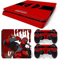 HQ Removable Vinyl STICKER SKIN DECAL COVER for PS4 SLIM Console Playstation 4