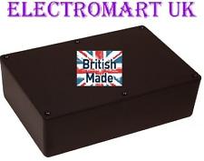 ABS BLACK PLASTIC ELECTRONICS PROJECT BOX ENCLOSURE 220 X 150 X 64MM