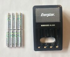 8 Energizer AAA Rechargeable NiMH Batteries, 800 mAh with CHVCM4 charger