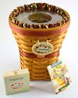 Longaberger May Series Snapdragon Basket Combo - Two Plastic Protectors 1998