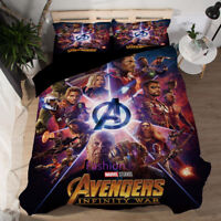 Quilt/Doona/Duvet Cover Set Single/Double/Queen/King Bed Covers The Avengers