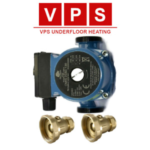 OMIS 25-60/130 Central Heating Circulation Pump with Ball Valves (22MM/28MM)