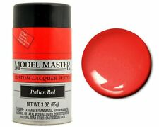 Testors Model Master Automotive Italian Red Lacquer Spray Paint Can 3 oz. 28109
