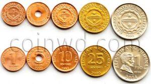 Philippines 5 coins set 1997-2014 (#1947)