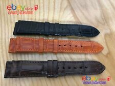 20mm - Genuine CROCODILE Leather Skin WATCH STRAP BAND! Free SHIPPING