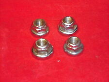 Vintage Campagnolo Track/Pista Front & Rear Axle Nuts. Nuovo/Super Record. Used.