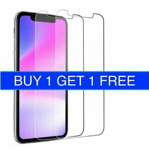 Tempered Glass Screen Protector For iPhone 11 11/12 Pro Max iPhone XR X XS SE 2