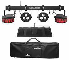 Chauvet DJ GigBAR Flex Lighting System For Church Stage Design Derby+Wash Lights