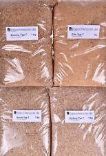 Räucherspäne Hickory, Kirsche, Erle & Buche Typ 7,  je 1kg mittelfeine Späne