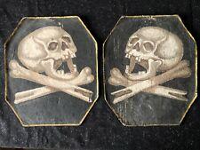 Obiits Rouwborden - Tête de Mort - Memento Mori voor Katafalk - Death - Folk-Art