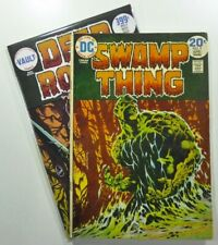 Vault DEEP ROOTS #1 2nd Print Homage + DC SWAMP THING #9 SET LOT Ships FREE!