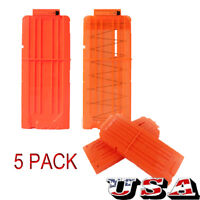 5X 12 Reload Clip Magazine Bullets MAG Round Darts Replacement for Nerf Toy Gun