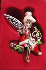 Lenox Santa'S Little Helper Tinkerbell Ornament New in box