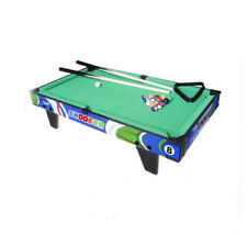 D07 Wooden Kids Pocket Toy Billiard Ball Snooker Pool Table Home Fun Game 19CM