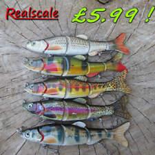 REALSCALE jointed hard Savage Swimbait fishing pike perch Gear lure plug Bait