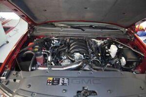 BCP BLACK 14-19 Silverado Sierra 1500 V8 Heat Shield Cold Air Intake + Filter