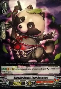 Cardfight!! Vanguard: Stealth Beast, Leaf Raccoon V-PR/0034EN