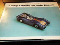 Lesney Matchbox: 1-75 Series Diecasts, Hammond, Maurice A., Very Good Book