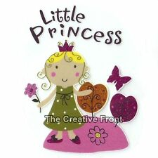 Little Cute Princess - DIY Iron On Glitter T-Shirt Heat Transfer - NEW