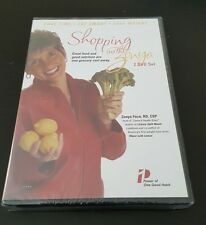 Shopping With Zonya: A Grocery Shopping Tour (DVD) Foco nutrition health NEW