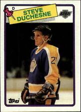 Lot Of 50 1988-89 Topps Hockey Steve Duchesne Card # 182