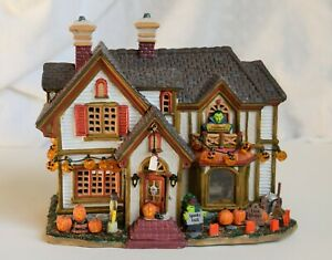 Lemax Spooky Town Halloween Party House