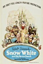 "SNOW WHITE MOVIE - DISNEY POSTER  - 12"" x 18"""