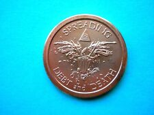 Spreading Debt and Death 1oz Copper Round #2