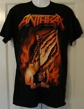 T Shirt Anthrax : Worship Music 2012 World Tour Logo : Size S