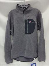 Berghaus Mens Chonzie 1/2 Zip Pullover 421692 Silver Filigree X61 Size Medium