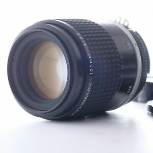 """""""Mint"""" Nikon Ai-S Micro NIKKOR 105mm f/2.8 Lens 265848 Shipping from Japan AIS"""