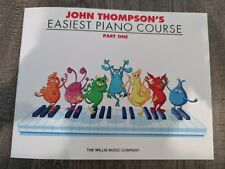 John Thompson's Easiest Piano Course Part 1 for Beginner Easy Music Lessons Book