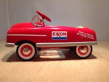 EXXON CROWN PREMIUMS 1948 BMC PEDAL CAR BANK - DIE CAST