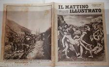 1924 Pranzi di Pasqua Giorgio Byron Treno Amalfi deviato a Teano Lucchesiana e