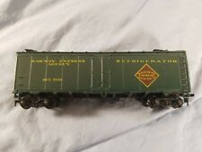 Athearn 40'  Reefer Railway Express Agency Refrigerator R.E.X. 6119 HO